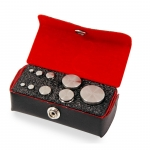 Troemner TW-100-GN, Class F Stainless Steel Test Weight Set
