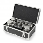 Troemner TW-50 D.O., Stainless Steel Test Weight 19 pcs Set