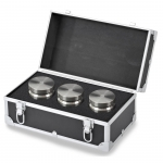 Troemner TW-60, (6)-10 lb Class F Stainless Steel Test Weight Set