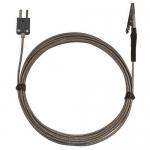 Digi-Sense WD-08468-20, Alligator Clip Oven Probe, 10ft SS Braid Cable