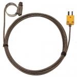 Digi-Sense WD-08469-22, Hose Clamp Probe, Braid Cable, Grounded