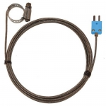 Digi-Sense WD-08469-24, Hose Clamp Probe, Braid Cable, Grounded