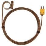 Digi-Sense WD-08469-42, Hose Clamp Probe, 10ft SS Braid Cable