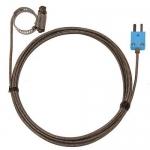Digi-Sense WD-08469-44, Hose Clamp Probe, 10ft SS Braid Cable
