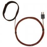 Digi-Sense WD-08469-80, Velcro Strap Probe, FEP Cable, Grounded