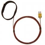 Digi-Sense WD-08469-82, Velcro Strap Probe, FEP Cable, Grounded
