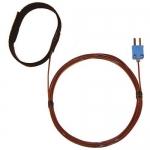 Digi-Sense WD-08469-84, Velcro Strap Probe, FEP Cable, Grounded