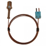 Digi-Sense WD-08500-73, Pipe Plug Probe, Ungrounded 5ft Cable
