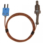 Digi-Sense WD-08500-74, Pipe Plug Probe, Grounded 5ft Cable
