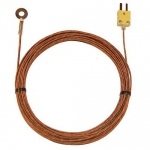 Digi-Sense WD-08514-84, Bolt-On Probe with Fiberglass Insulated Cable