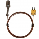 Digi-Sense WD-08516-73, Pipe-Plug Probe, 5ft Cable, Type K