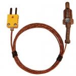 Digi-Sense WD-08516-74, Pipe-Plug Probe, 5ft Cable, Type K