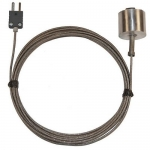 Digi-Sense WD-08519-86, Dropping / Magnetic Probe, 10ft SS Braid Cable