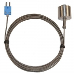 Digi-Sense WD-08525-86, Dropping / Magnetic Probe, 10ft SS Braid Cable