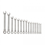 Williams WS-1122NRC, 16-Piece 1/4″ – 1-1/4″ Combination Wrench Set