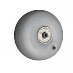 Wheeleez WZ1-24UD, 24cm PU Beach Wheel, 5/8″ Bushing
