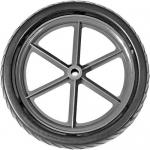Wheeleez WZ1-25EVA, 10″ EVA Solid Foam Wheel with 1/2″ Bushing