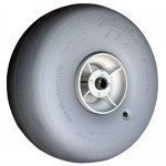 Wheeleez WZ1-49UB, 19.3″ Polyurethane Beach Wheel w/ 3/4″ Bearing