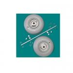 Wheeleez WZ1-WAK-24, Wheel/Axle Kit, 24cm