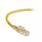 BlackBox C6PC70-YL-06, 6′ Lockable Patch Cable