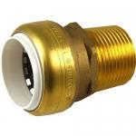 Sharkbite UIP140, 1″ PVC x 1″ MNPT Threaded Adapter